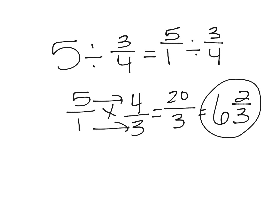 ShowMe - distributive property using fractions and whole numbers