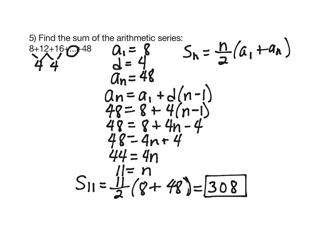 Uncategorized Arithmetic Sequences And Series Worksheet showme general term of an arithmetic sequence sequences series 2