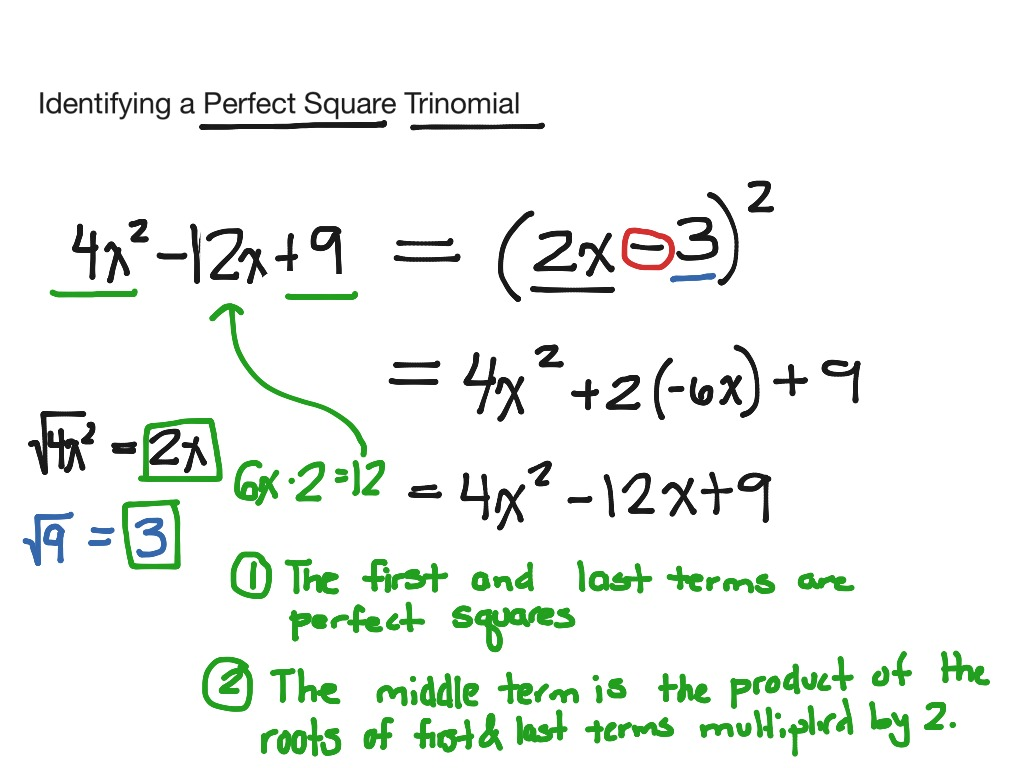 Uncategorized Factoring Perfect Square Trinomials Worksheet showme solving word problems using factoring perfect square trinomial