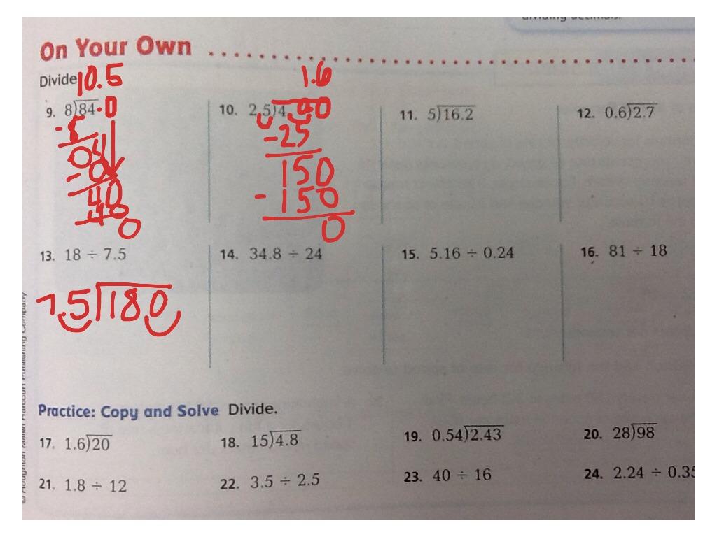 ShowMe - go math grade 5 chapter 6 lesson 6.2 answer key
